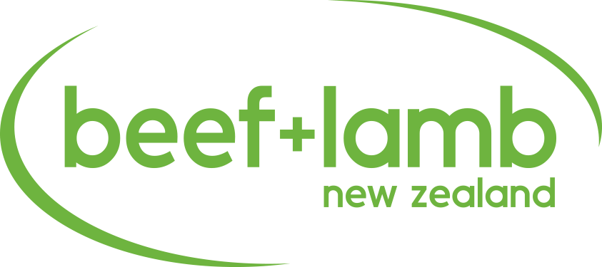 Beef and Lamb New Zealand logo.
